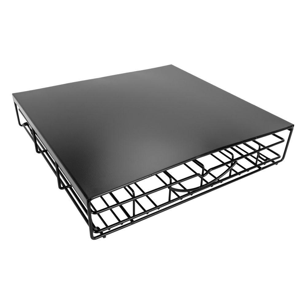 Southern Homewares Keurig 36 K-Cup Black Storage Drawer Coffee Holder