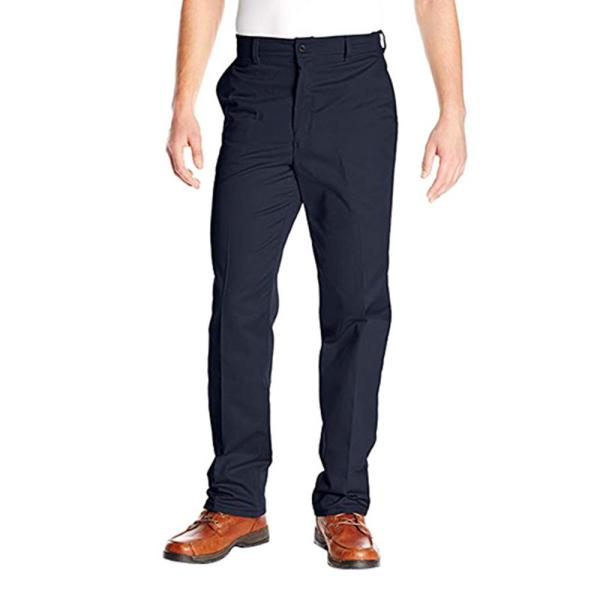 Red Kap Men S Size 33 In X 30 In Brown Wrinkle Resistant Cotton Work Pant Pc20dn 34 34 The Home Depot