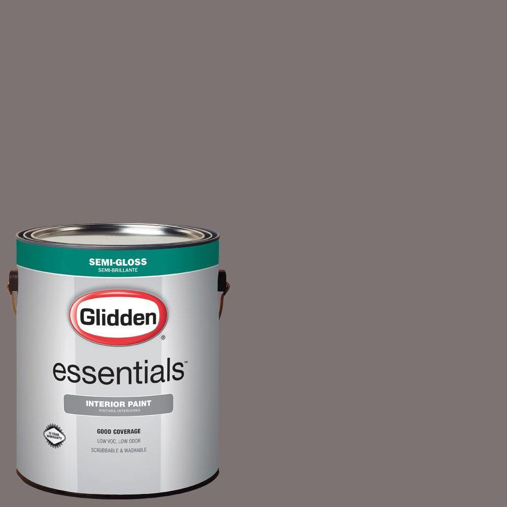 Hdgcn59u Dark Raspberry Taupe Semi Gloss Interior Paint