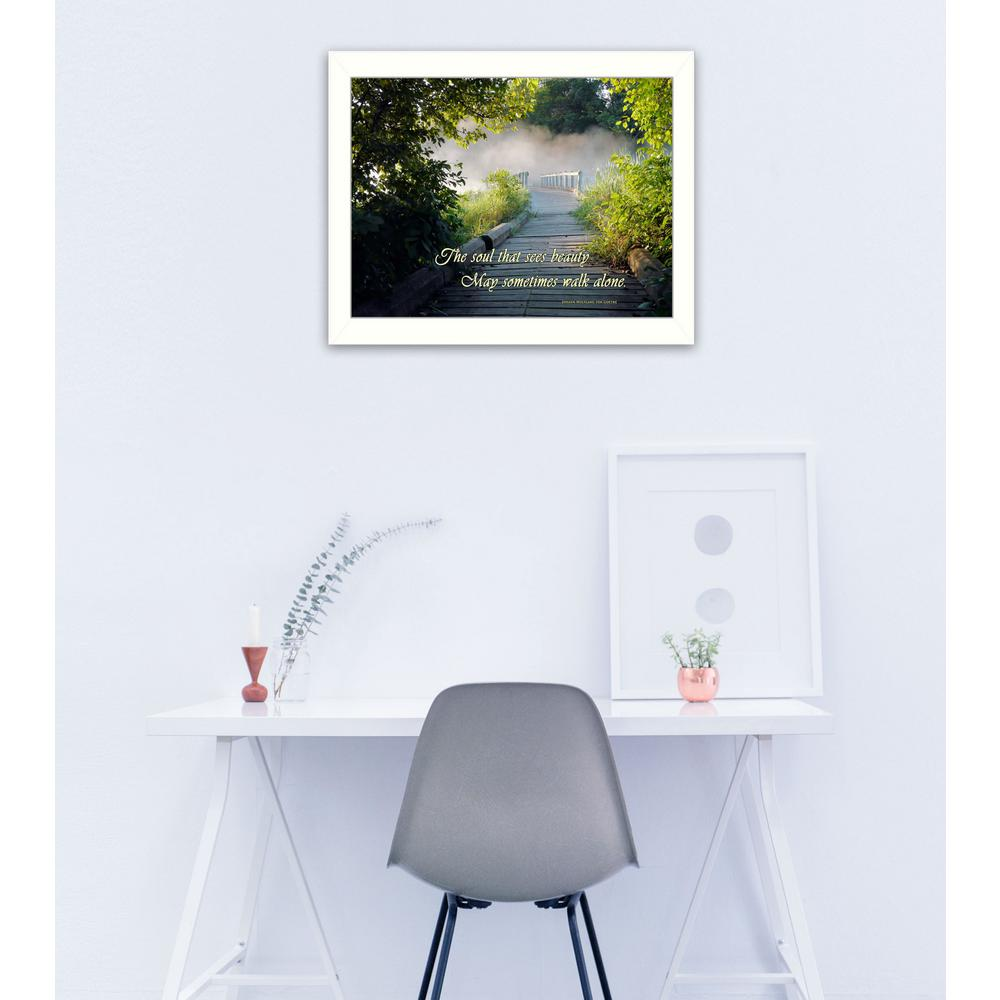 "14 in. x 18 in. ""Beauty"" by Trendy Decor 4U Printed"