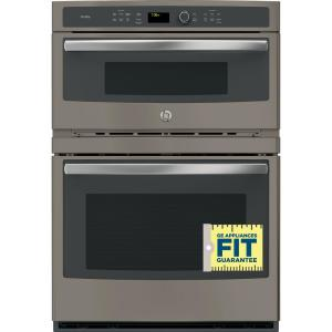 Electric Built In Combination Convection Microwave Wall Oven Slate