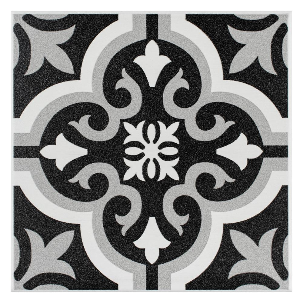 Merola Tile Braga Classic Encaustic 7 34 In X 7 34 In Ceramic