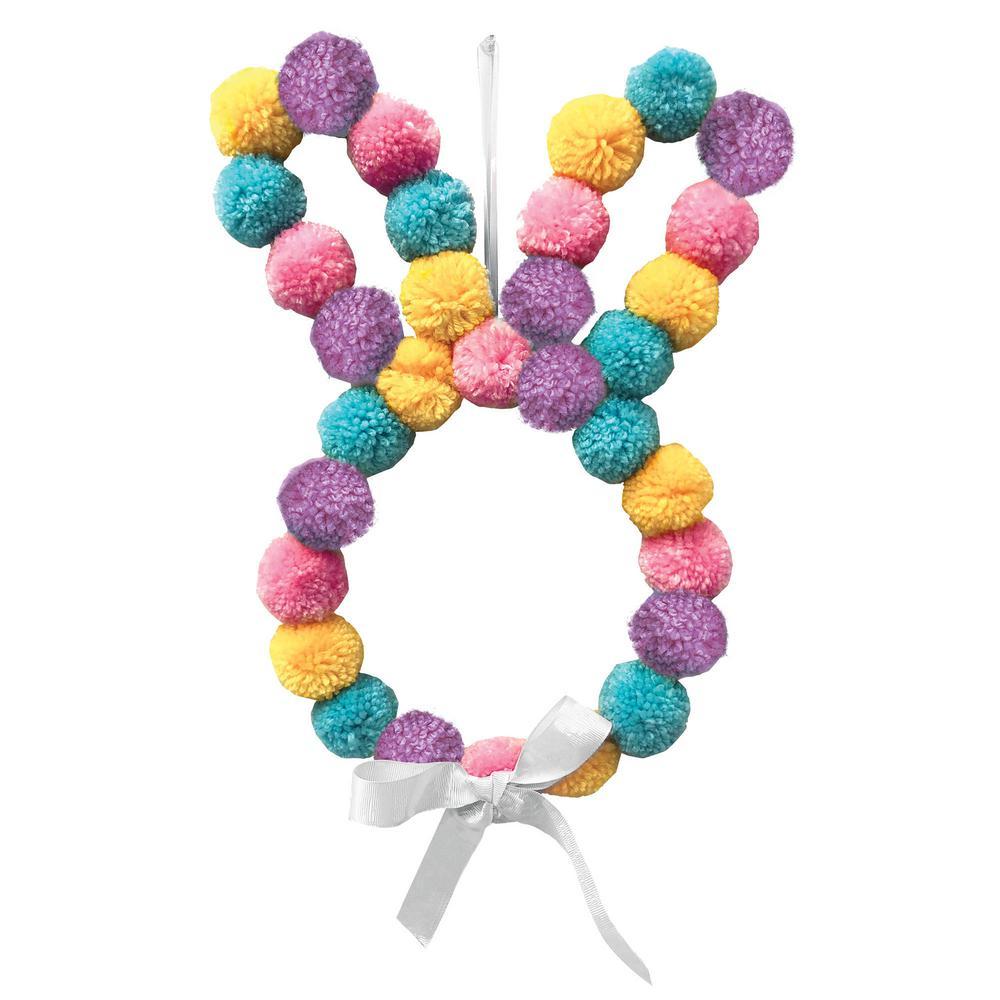 Easter Hanging Pom-Pom Bunny