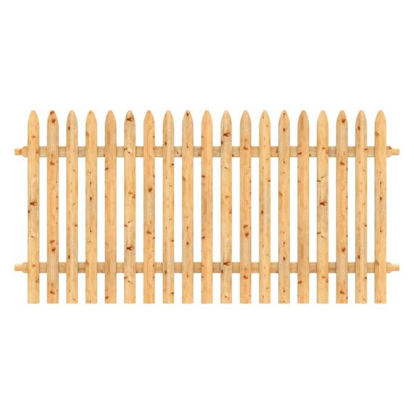 Wood Fence Pickets Wood Fencing The Home Depot