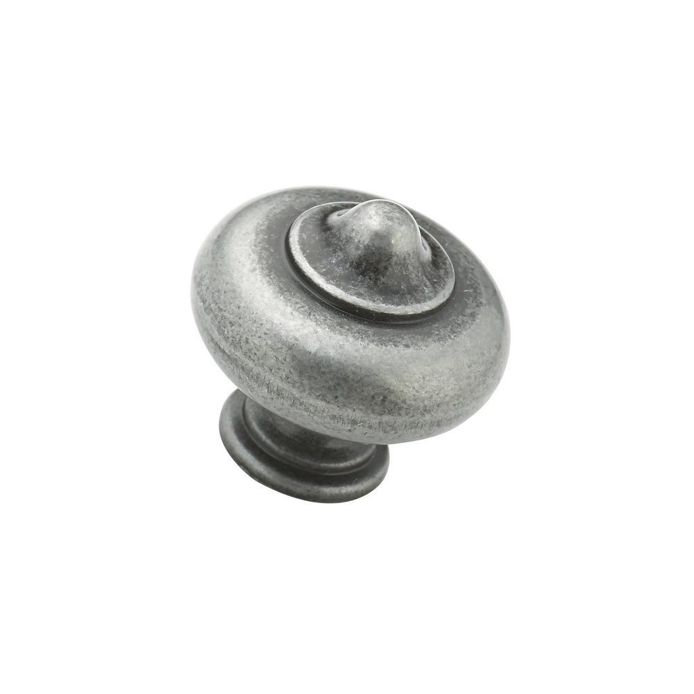 1.25 Natural Iron Richelieu Hardware BP670908 Classic Metal Knob