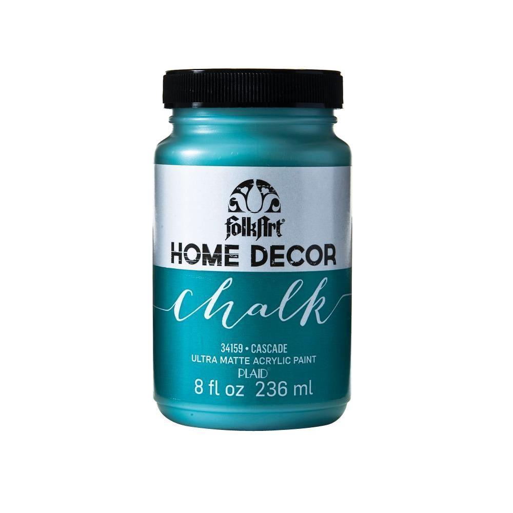 FolkArt Home Decor 8 oz. Cascade Ultra-Matte Chalk Finish Paint
