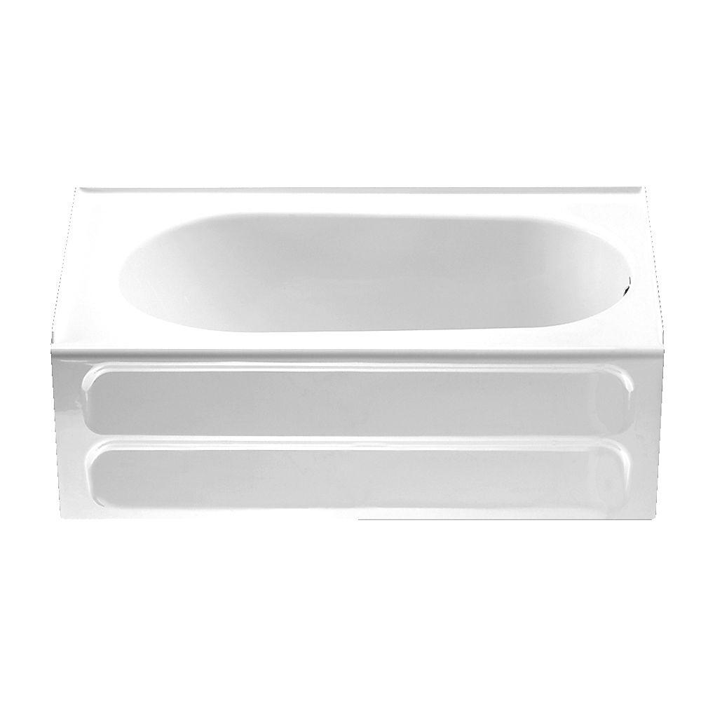 American Standard Standard Collection 5 Ft. Right Hand Drain Bathtub In  White