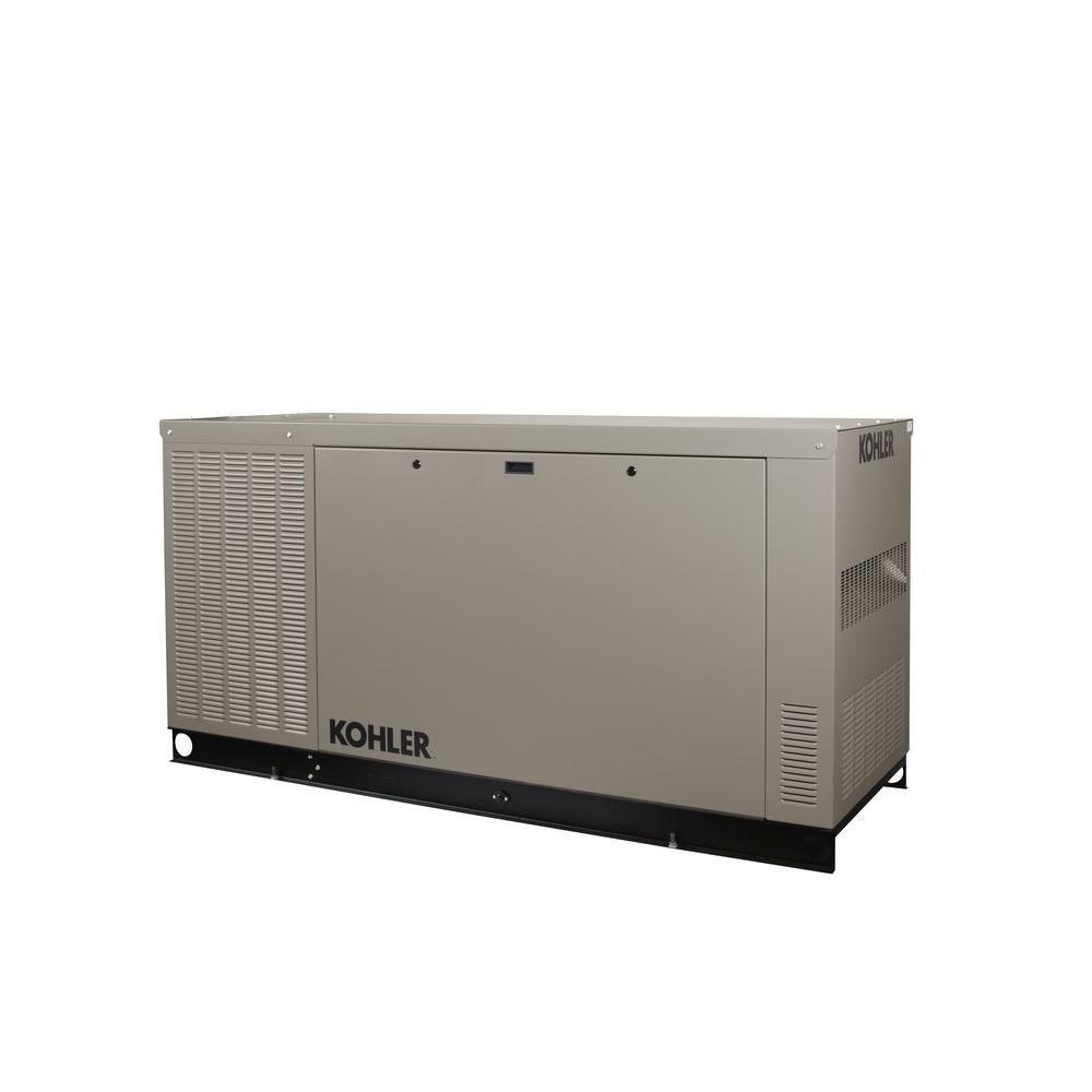 KOHLER 38,000-Watt Liquid Cooled Standby Generator
