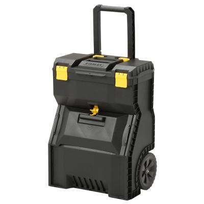 18 in. 2-in-1 Mobile Work Center Tool Box