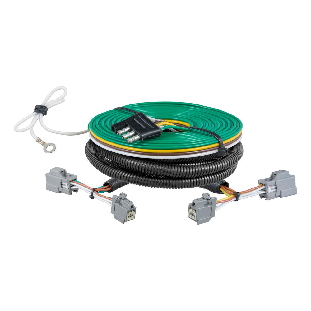 curt custom towed vehicle rv wiring harness 58946 the. Black Bedroom Furniture Sets. Home Design Ideas