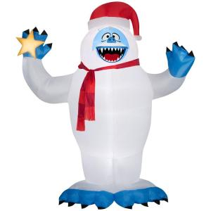 Deals on Rudolph 118.90 in. D x 74.80 in. W x 144.09 in. inflatable Bumble