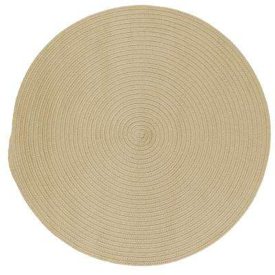 Trends Linen 8 ft. x 8 ft. Braided Round Area Rug