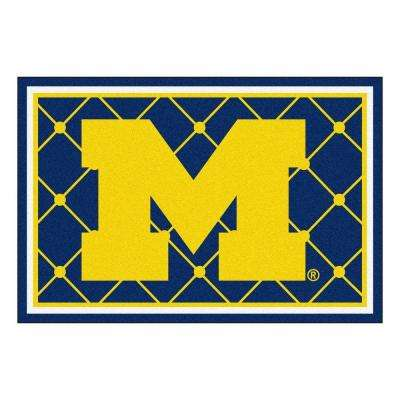 University of Michigan 5 ft. x 8 ft. Area Rug