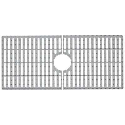 32.44 in. x 14.56 in. Kitchen Sink Silicon Bottom Grid for Single Basin 36 in. Sink