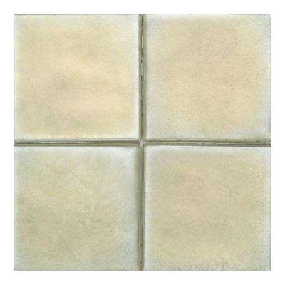 Cristallo Glass Peridot 4 in. x 4 in. Glass Accent Wall Tile