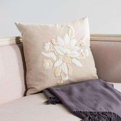 June Embroidered Pillow (2-Pack)
