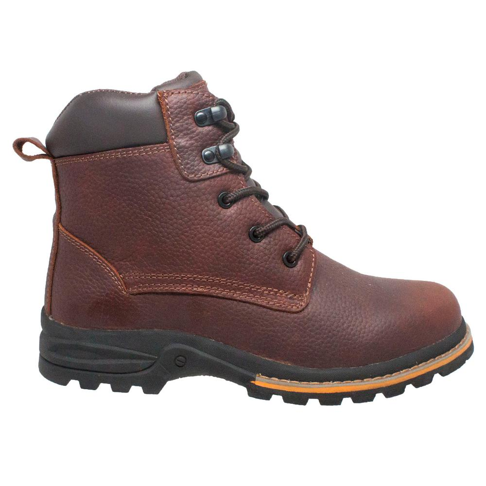 23735c0b3a6 AdTec Men's Size 10.5 Brown Grain Oiled Leather 6 in. Work Boots