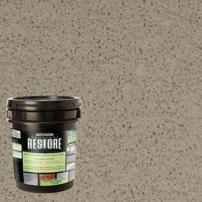 4 gal. Brownstone Vertical Liquid Armor Resurfacer for Walls and Siding