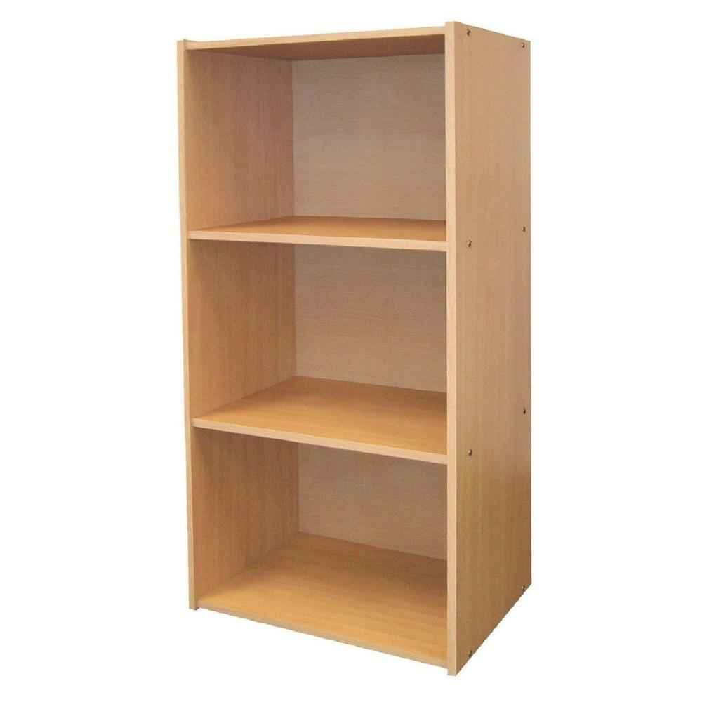 MegaHome 3-Tier Bookcase-DISCONTINUED
