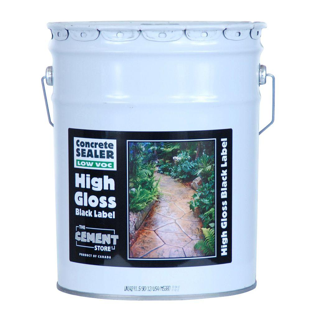 The Cement Store 5 gal. Porous Concrete and Masonry Water Repellent with Wear Coat