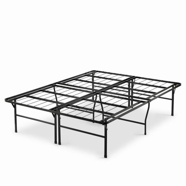 Casey Premium 18 in. Full Metal Smartbase Bed Frame with Easy Assembly