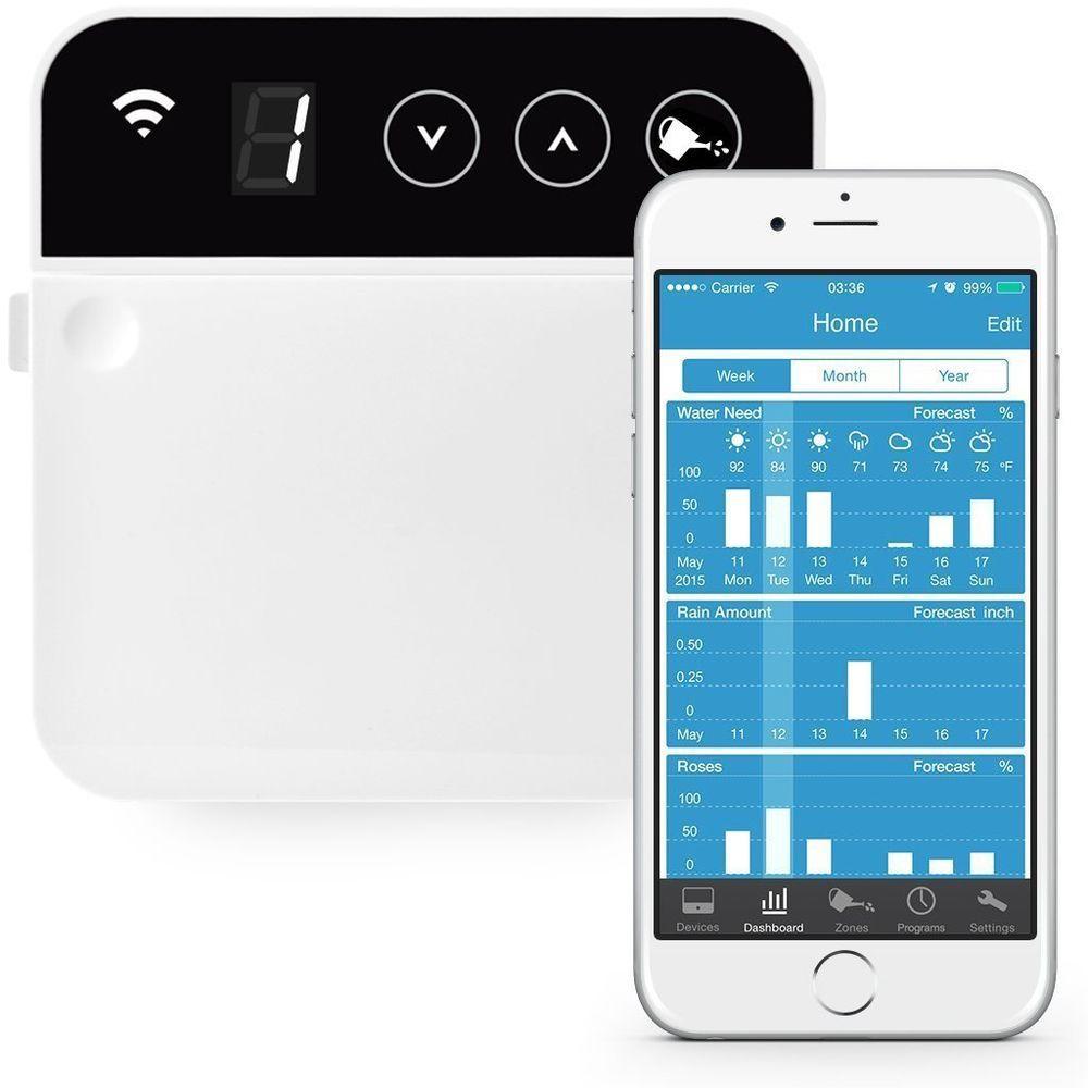 8 Zone Smart Wi-Fi Sprinkler Controller