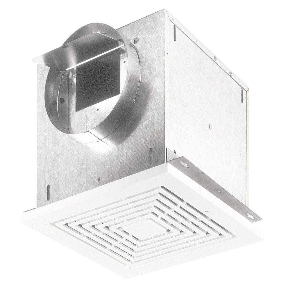 Broan 109 CFM High-Capacity Ventilation Ceiling Bathroom Exhaust Fan-L100