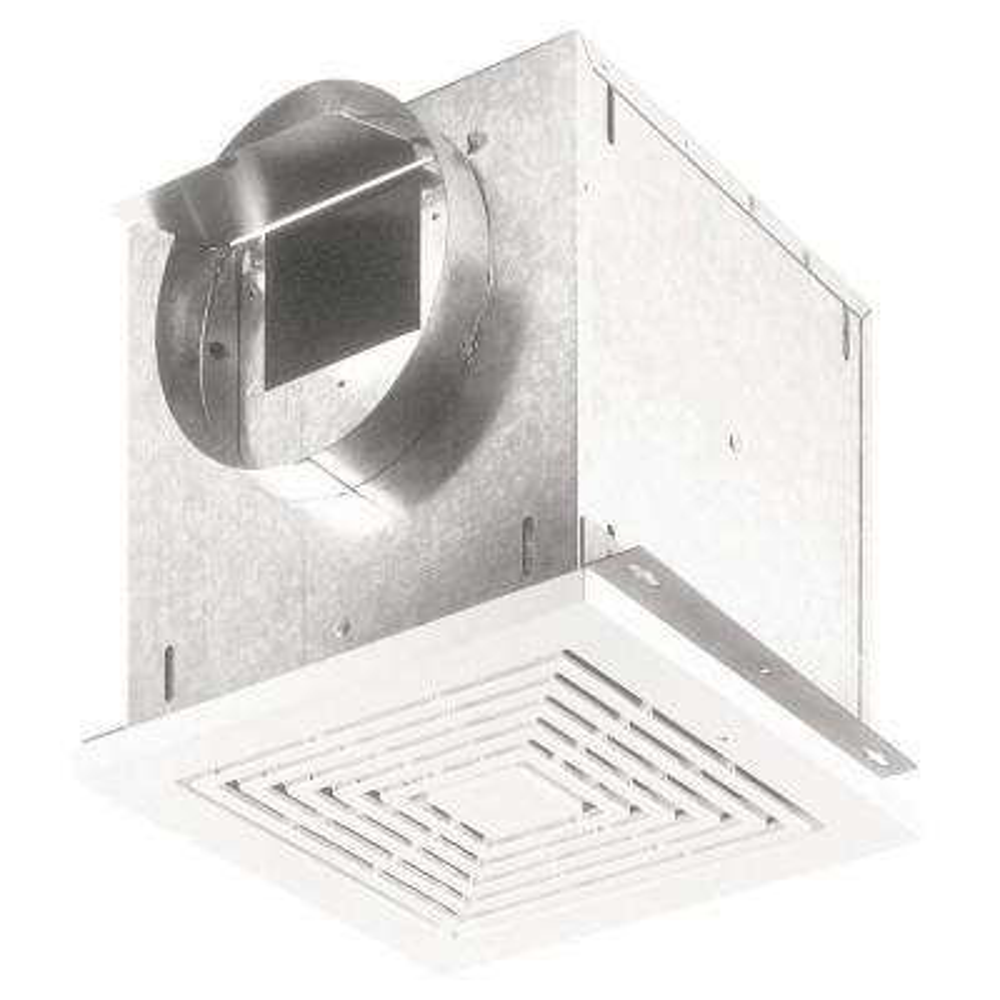 109 CFM High-Capacity Ventilation Ceiling Bathroom Exhaust Fan