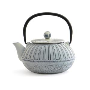 Click here to buy BergHOFF 3.5-Cup White Cast Iron Teapot by BergHOFF.