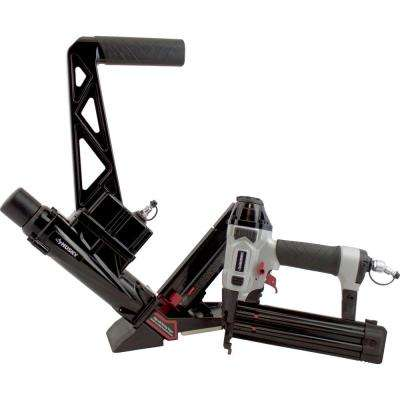 Pneumatic 3-in-1 Flooring Nailer and Brad Nailer Combo Kit (2-Piece)