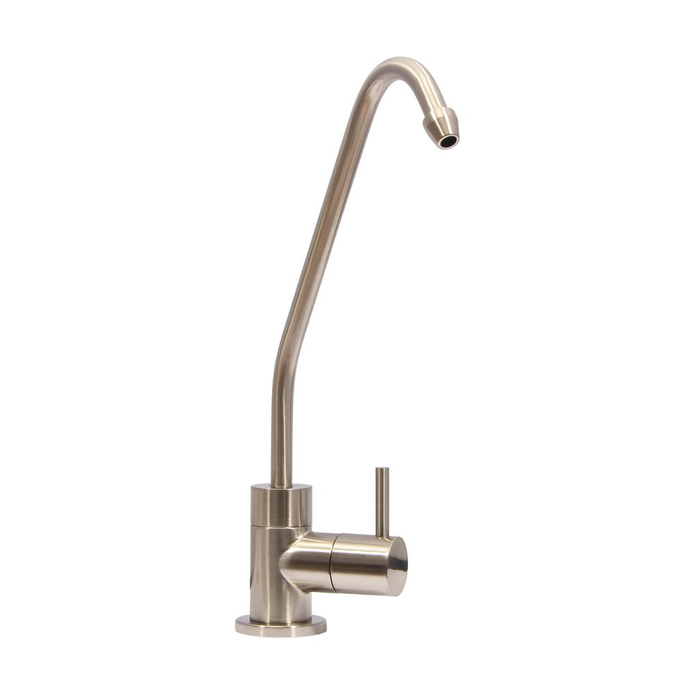 Replacement Single-Handle Drinking Water Filtration Faucet in Brushed Nickel