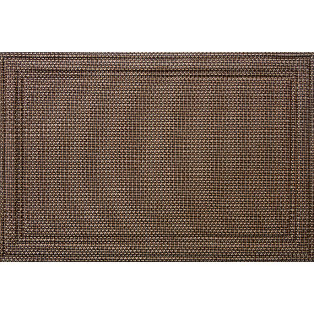 Apache Mills Manhattan Soho 24 in. x 36 in. Recycled Rubber Mat