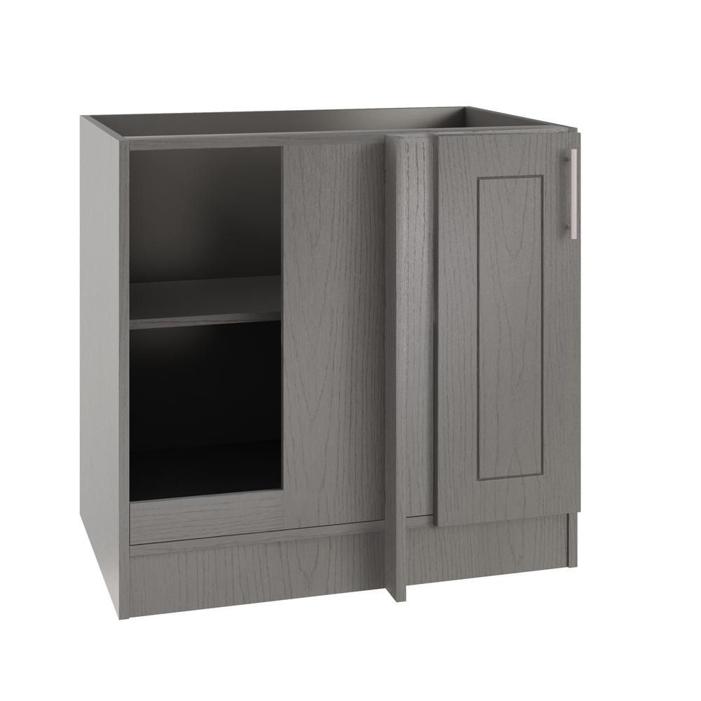 Outdoor Kitchen Cabinet Doors: WeatherStrong Assembled 39x34.5x24 In. Palm Beach Island