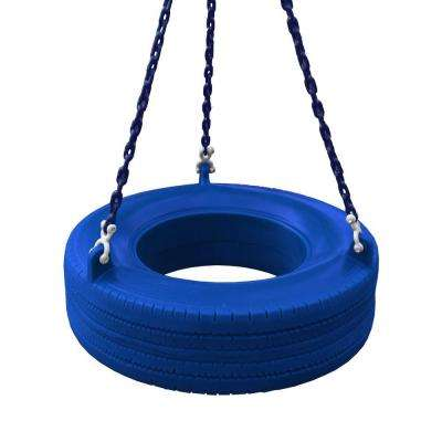 360 Degree Blue Turbo Tire Swing