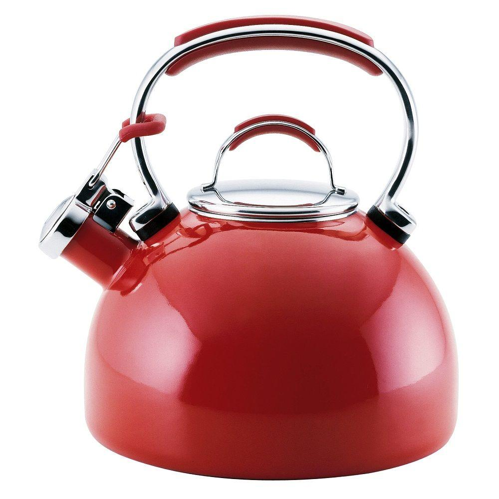 KitchenAid Gourmet Essentials 8-Cup Tea Kettle in Red-DISCONTINUED