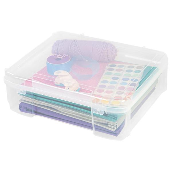 12 in. x 12 in. Portable Project Case in Clear