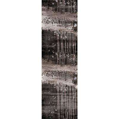 Monterey Charcoal 2 ft. x 8 ft. Indoor Runner Rug