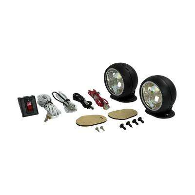 3.11 in. Round Halogen Driving Light Kit with Radiant Effects