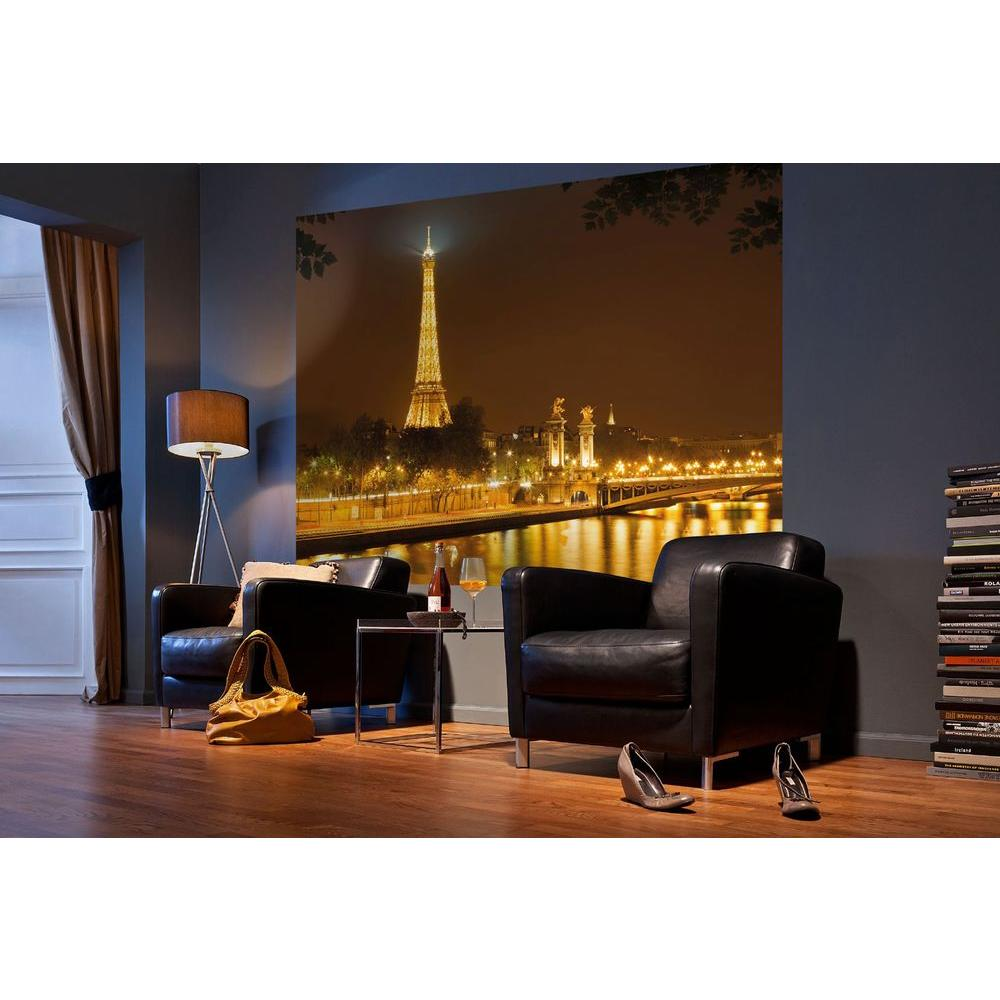 Komar 72 in. x 100 in. Nuit D'or Wall Mural