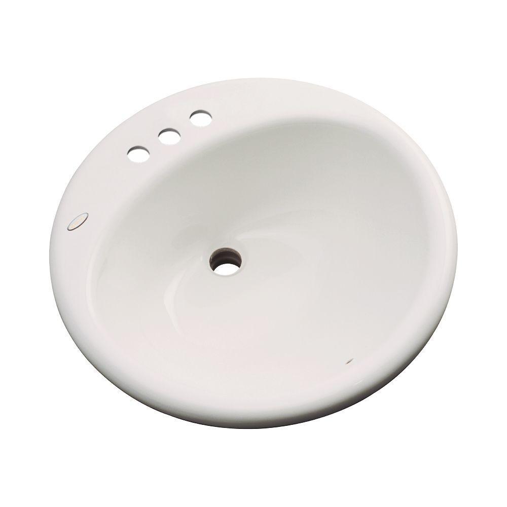 Clarington Drop-In Bathroom Sink in Natural