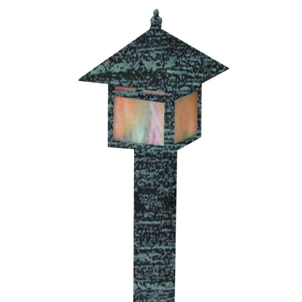 Filament Design Centennial Outdoor LED Rubbed Verde Area Light