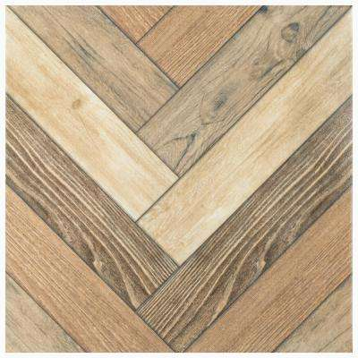 Malibu Natural 17-3/4 in. x 17-3/4 in. Ceramic Floor and Wall Tile (22.5 sq. ft./Case)