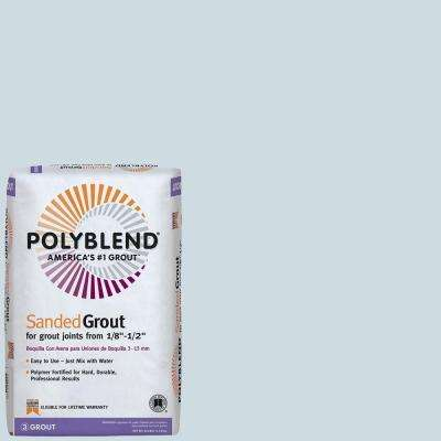 Polyblend #547 Ice Blue 25 lb. Sanded Grout
