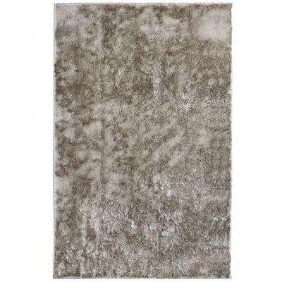 Silk Reflections Grey 8 ft. x 10 ft. Area Rug