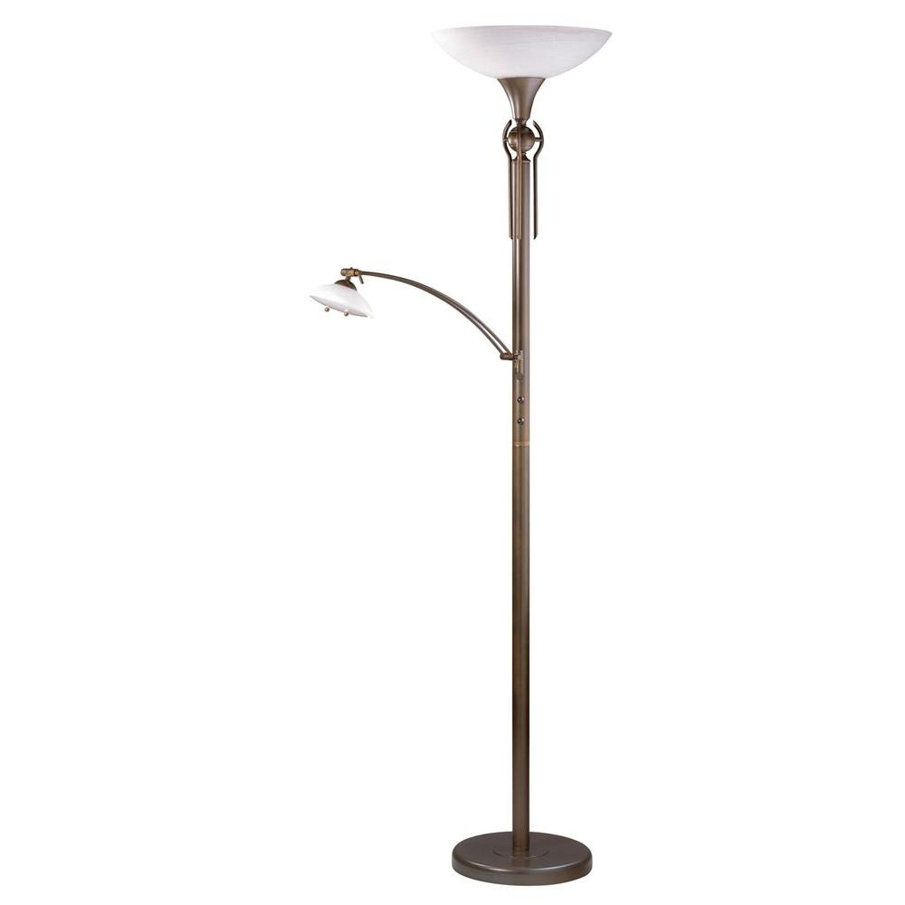 Floor Lamps Lamps The Home Depot