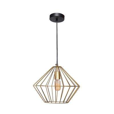 Empire 1-Light Black Pendant