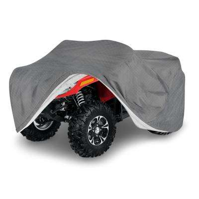Economy Polypropylene 77 in. x 47 in. x 34 in. Small Outdoor ATV Cover