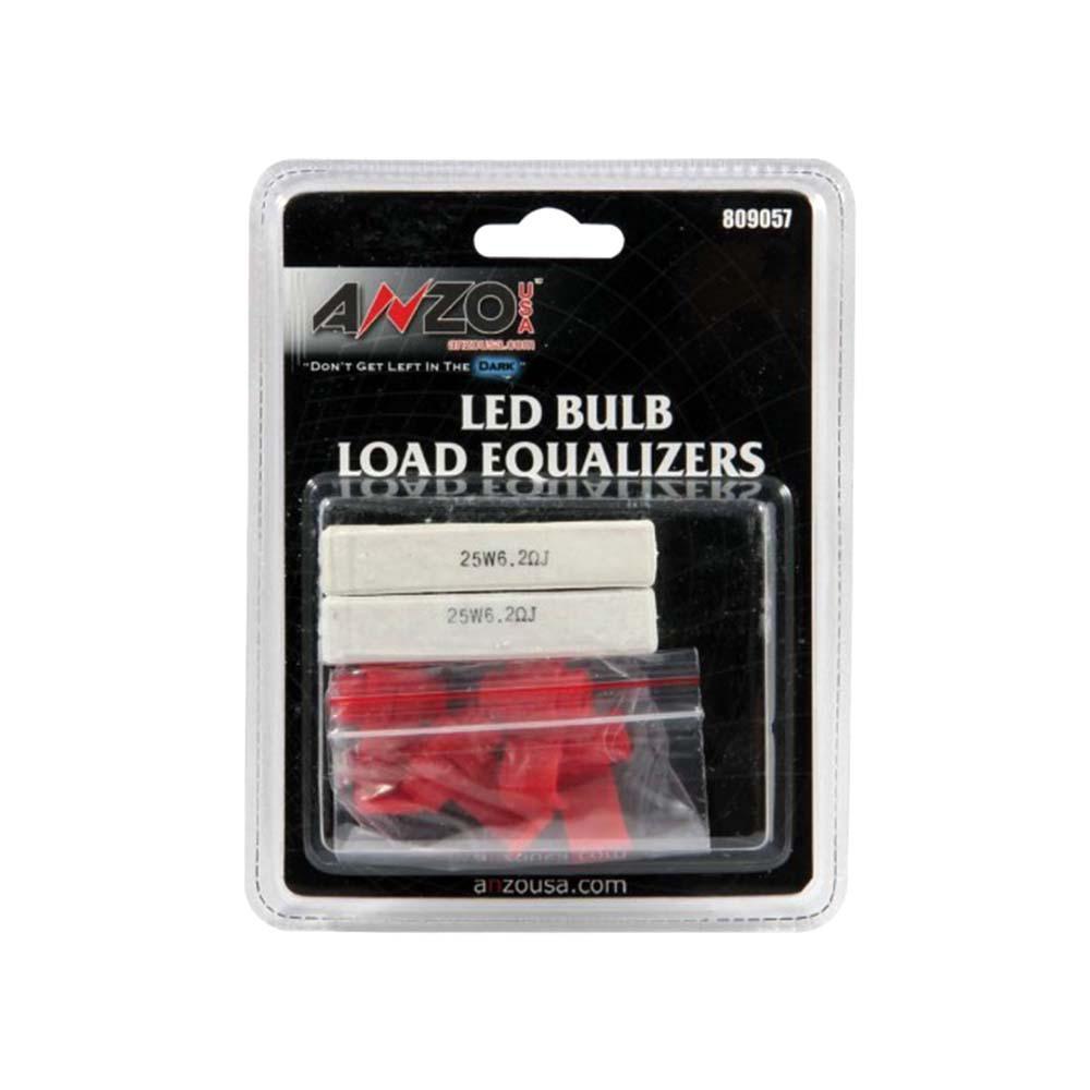 Resistor Kit Universal LED Bulb Resistor Kit Pair 25W/6.2 OHM