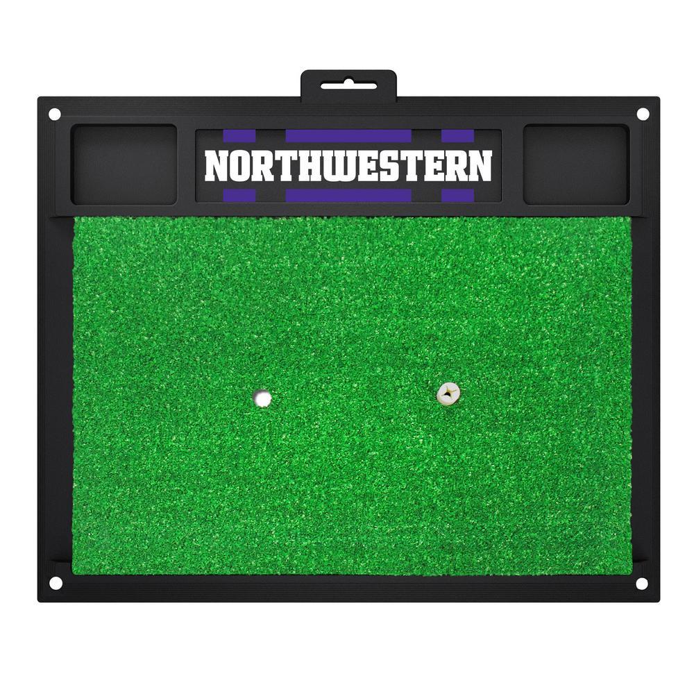 Northwestern University Golf Hitting Mat 20 in.  x 17 in.