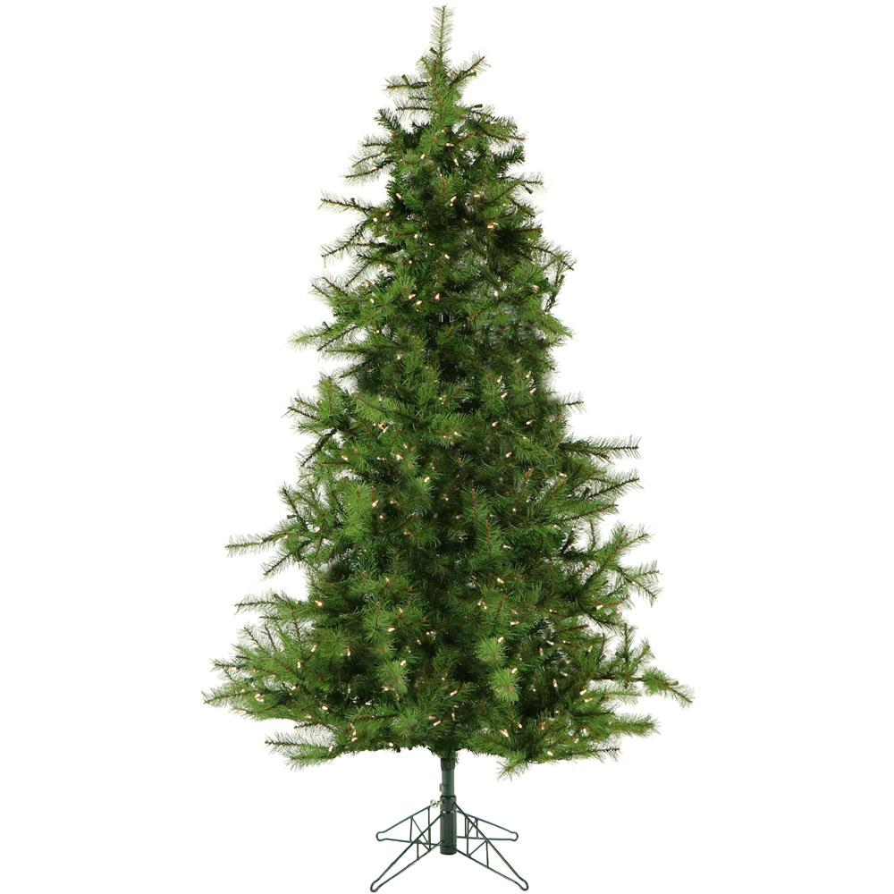 6.5 ft. Colorado Pine Artificial Christmas Tree with Clear Smart String
